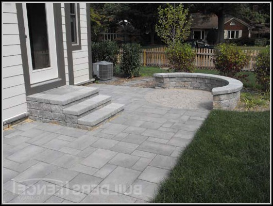 Paver Patio Designs With Steps