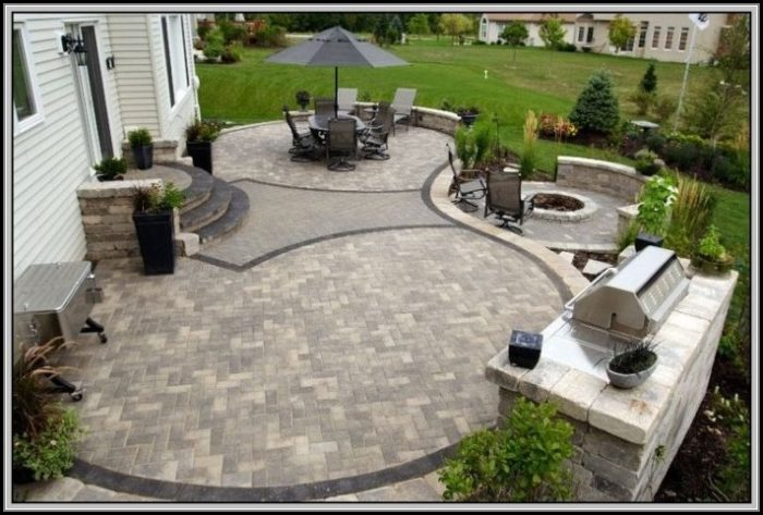 Paver Patio Ideas Pictures
