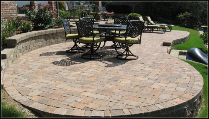 Paver Patio Pictures Designs