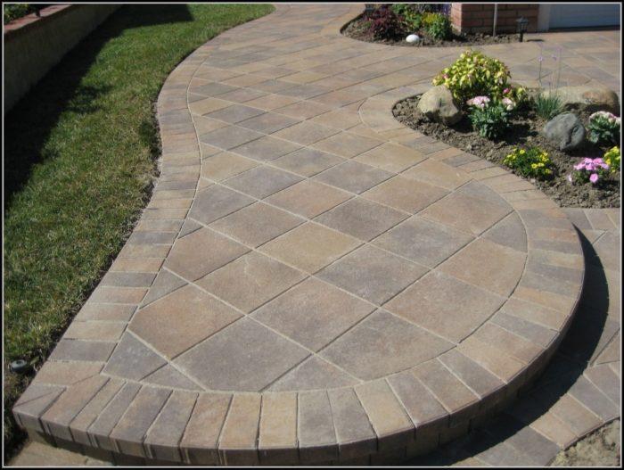 Paver Stone Patio Designs