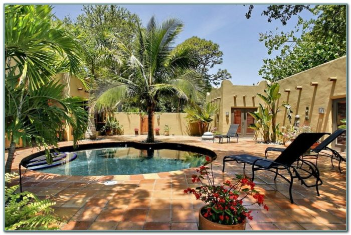 Pictures Of Inground Pools And Patios