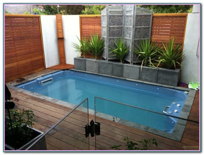 Pictures Of Inground Pools In Small Backyards
