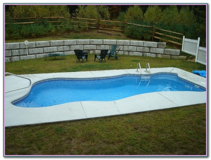 Pictures Of Inground Pools Landscape
