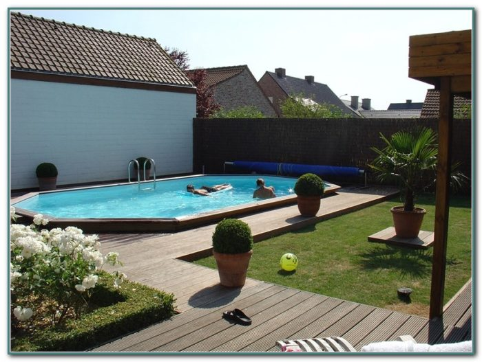Pictures Of Inground Pools With Decks