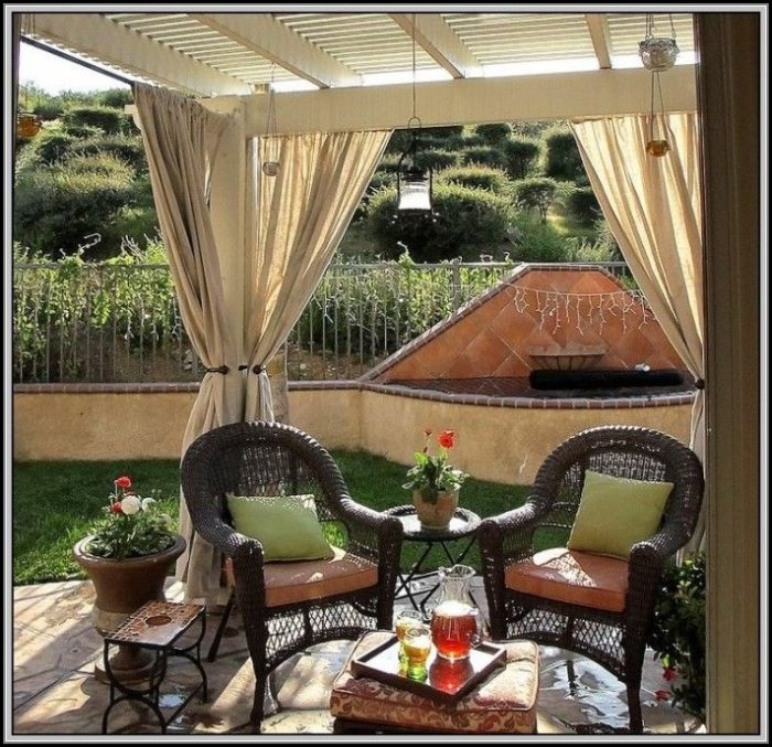 Pinterest Patio Curtain Ideas