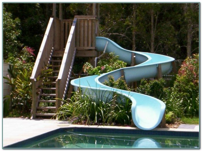 Pool Slides For Inground Pools Canada