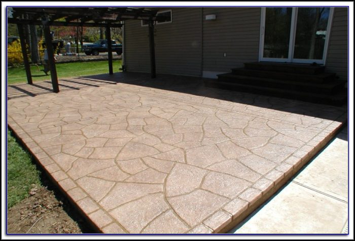 Porcelain Tile Over Concrete Patio