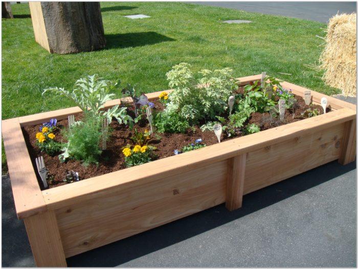 Raised Garden Beds Plans Design