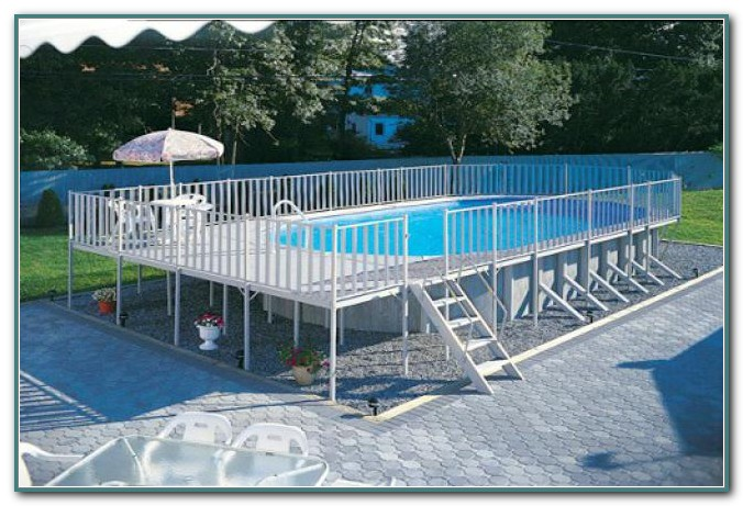 Rectangular Above Ground Swimming Pool