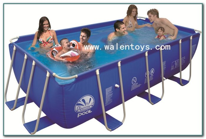 Rectangular Inflatable Above Ground Swimming Pool