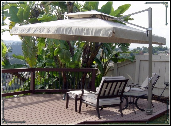 Rectangular Patio Umbrella Canada