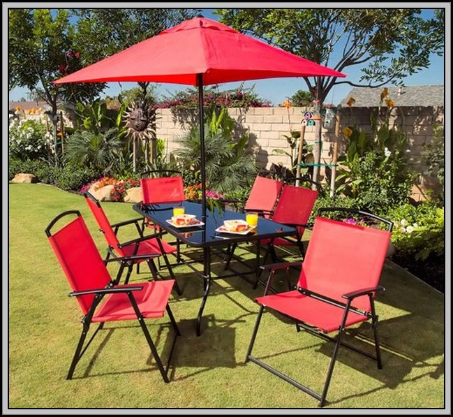 Red Patio Umbrella Walmart