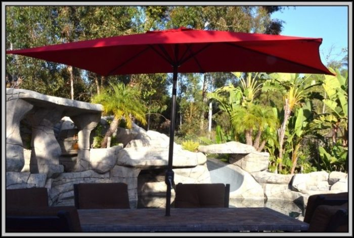 Replacement Patio Umbrella Canopy Rectangular