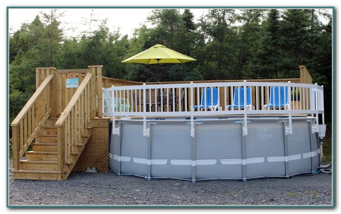 Resin Above Ground Pool Kits