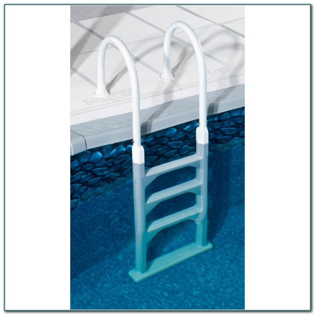 Resin Above Ground Pool Ladder