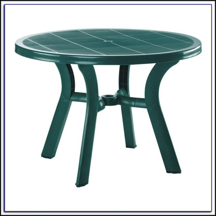 Resin Patio Table With Umbrella Hole