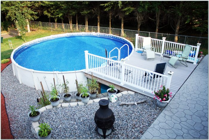 Resin Pool Decks For Above Ground Pools