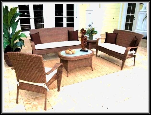 Resin Wicker Patio Furniture Winter