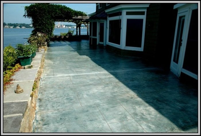 Resurface Concrete Patio Level