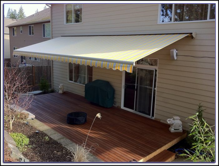 Retractable Patio Awnings And Canopies