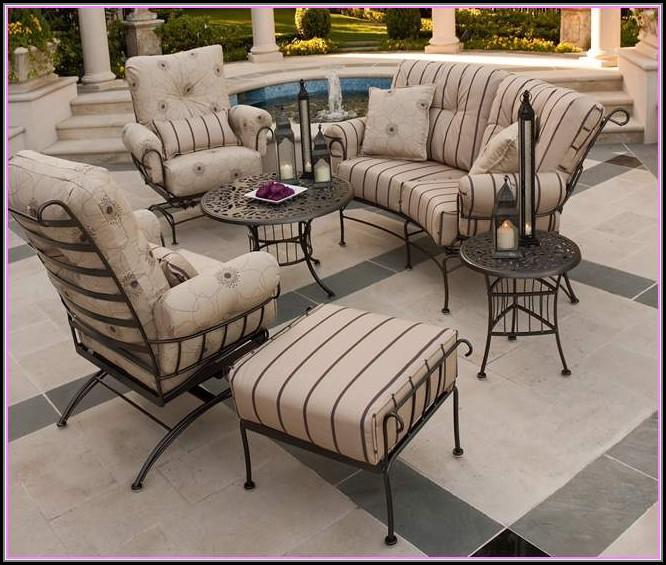 Rod Iron Patio Furniture Cushions