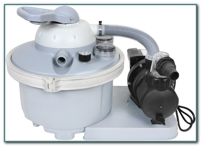 Sand Filters For Intex Pools