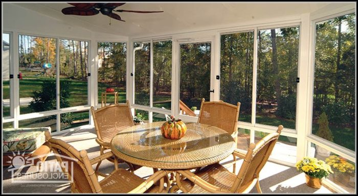 Screened In Patio Ideas Pinterest