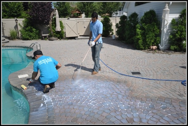 Sealing Concrete Patio Pavers