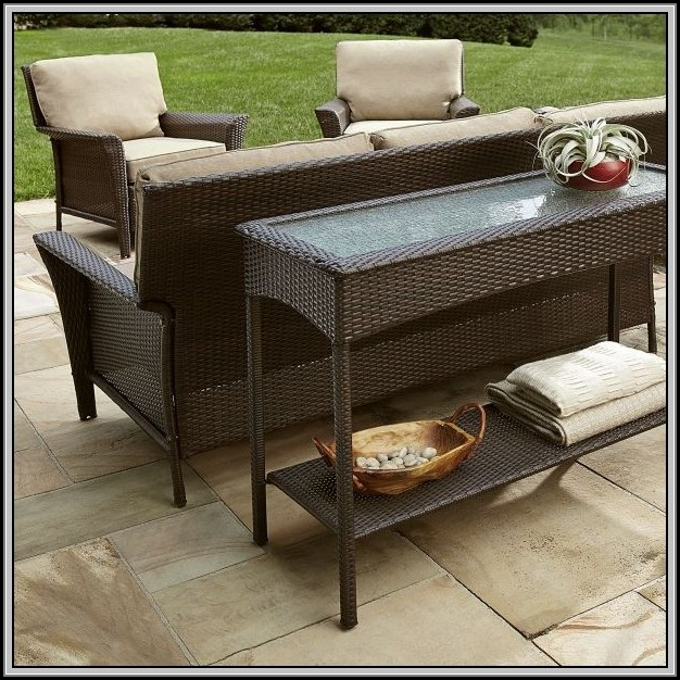 Sears Patio Cushion Storage