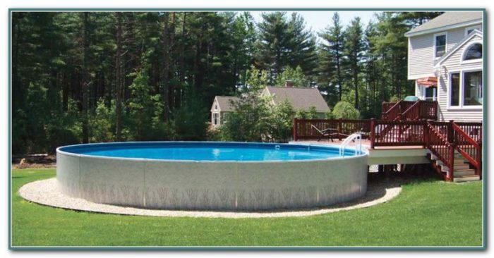 Semi Inground Pool Kits