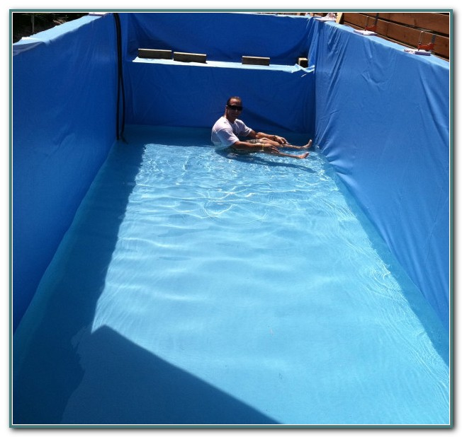 Shipping Container Pool Liner