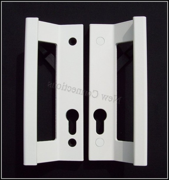 Sliding Patio Door Handles White