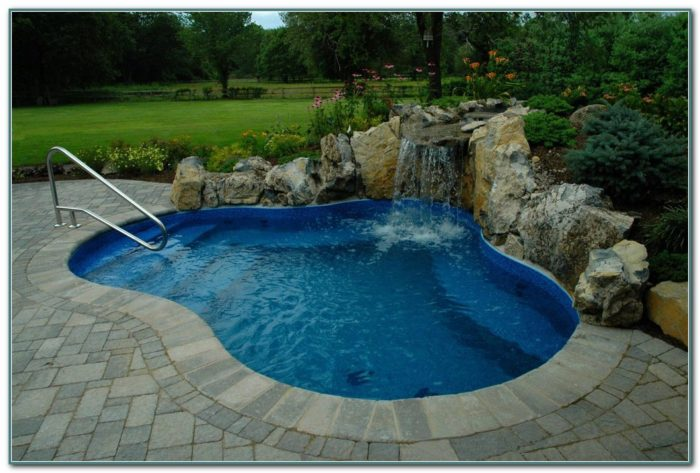 Small Backyard Inground Pool Designs