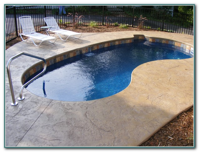 Small Backyard Inground Swimming Pools