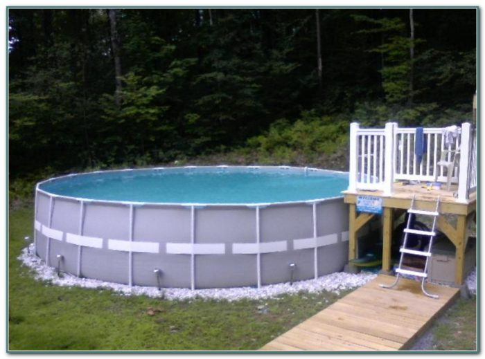 Small Decks For Above Ground Pools