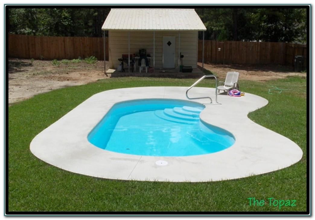 Small Fiberglass Inground Pool Kits