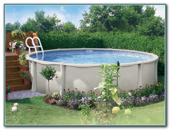 Small Oval Above Ground Swimming Pools
