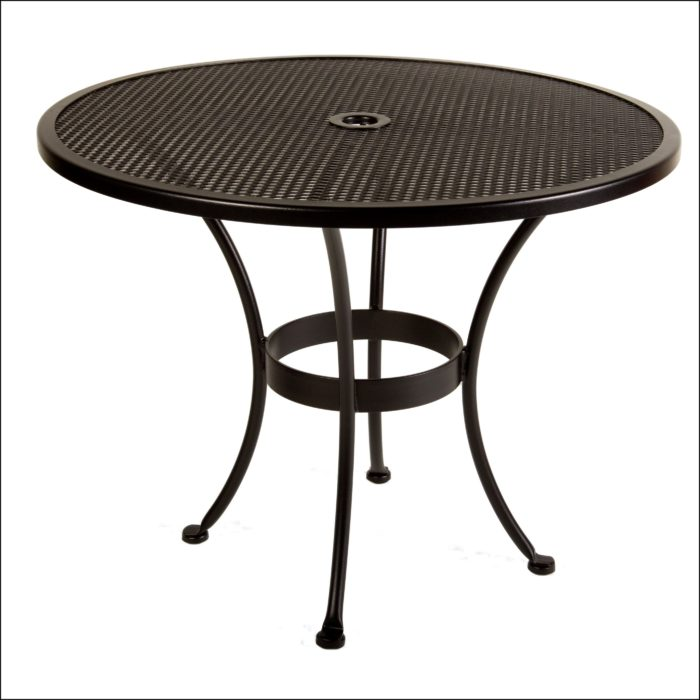 Small Patio Table With Umbrella Hole