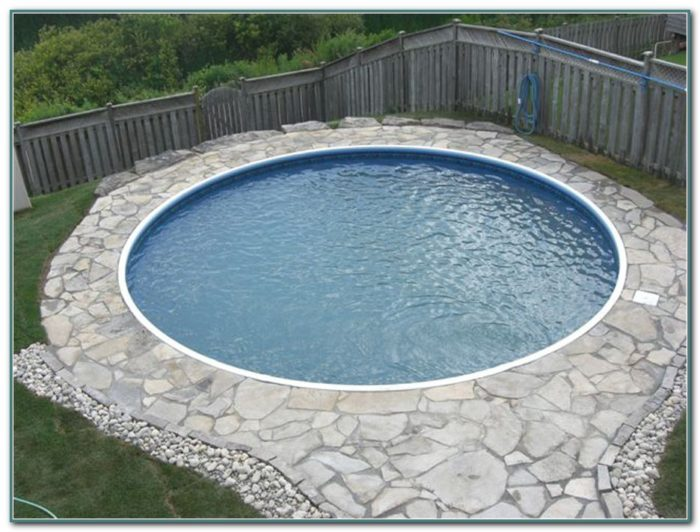 Small Semi Inground Swimming Pools