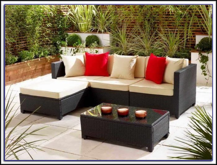 Small Space Patio Conversation Sets