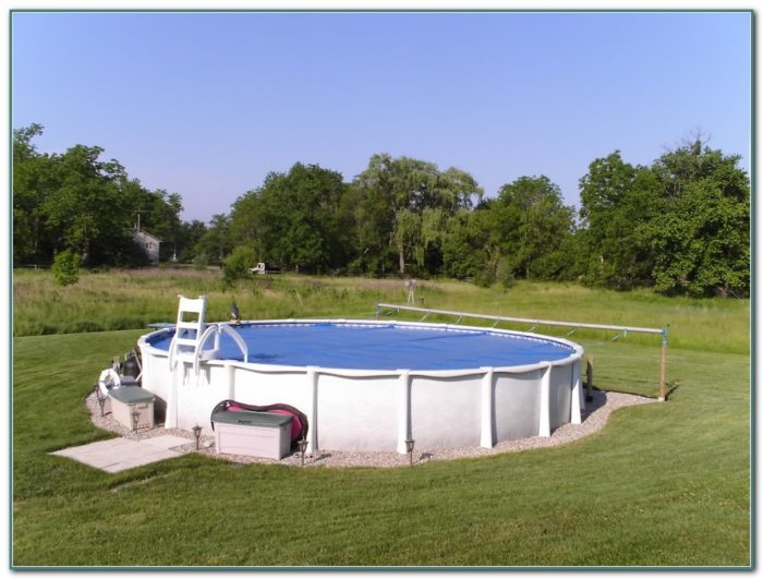Solar Cover Reel Above Ground Pool