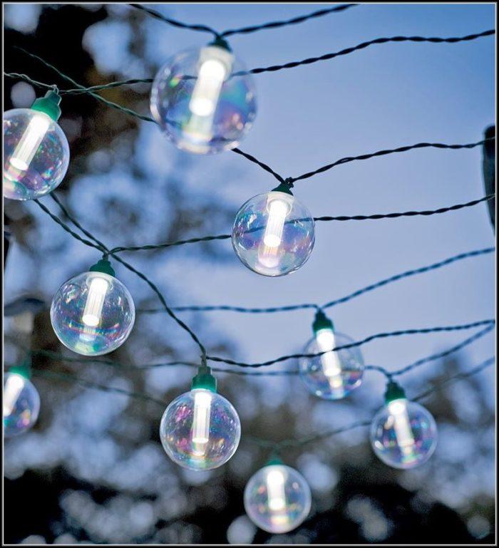 Solar Led Patio String Lights