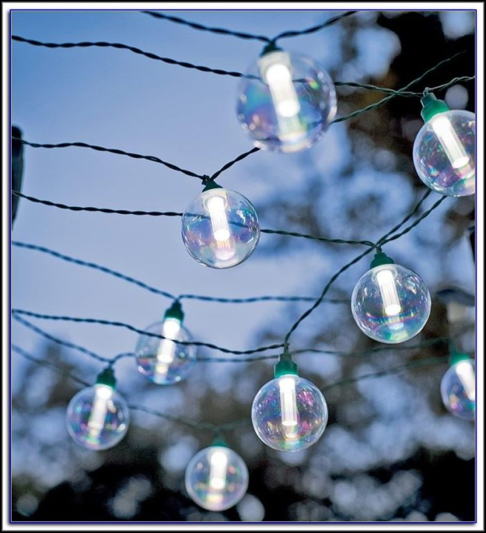 Solar Patio String Lights Canada