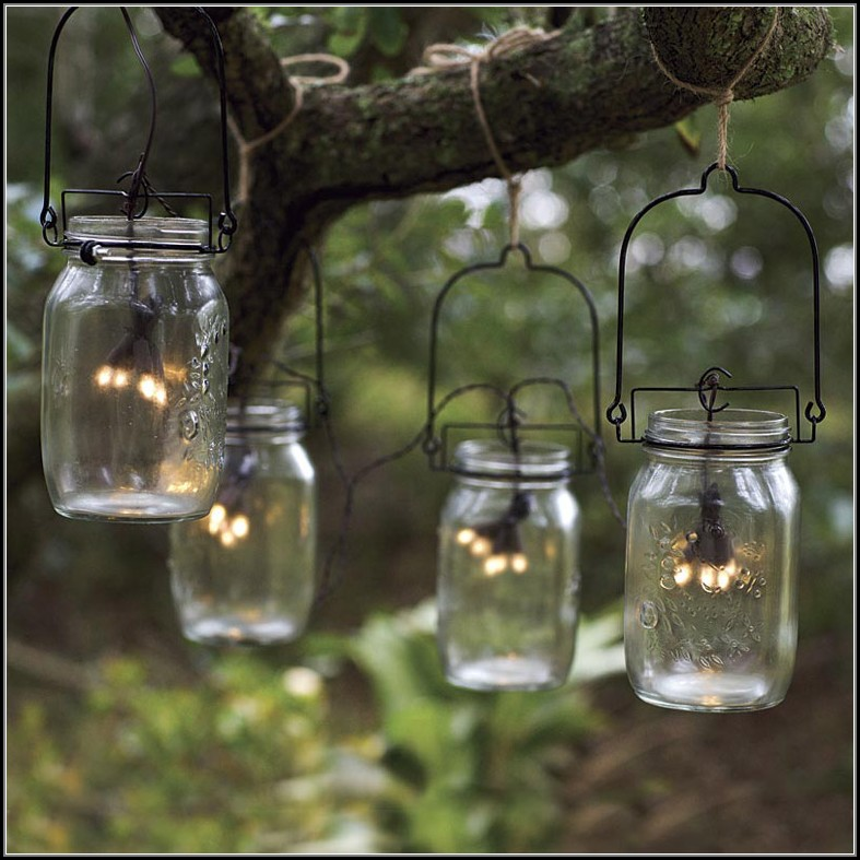 Solar Patio String Lights