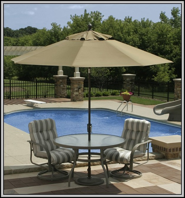 Solar Powered Patio Umbrella Home Depot