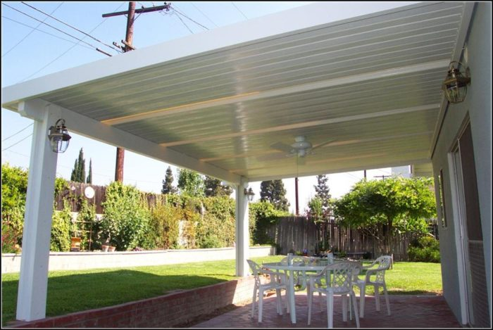 Solid Wood Patio Cover Kits