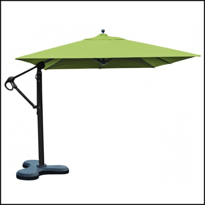 Square Patio Umbrella Offset