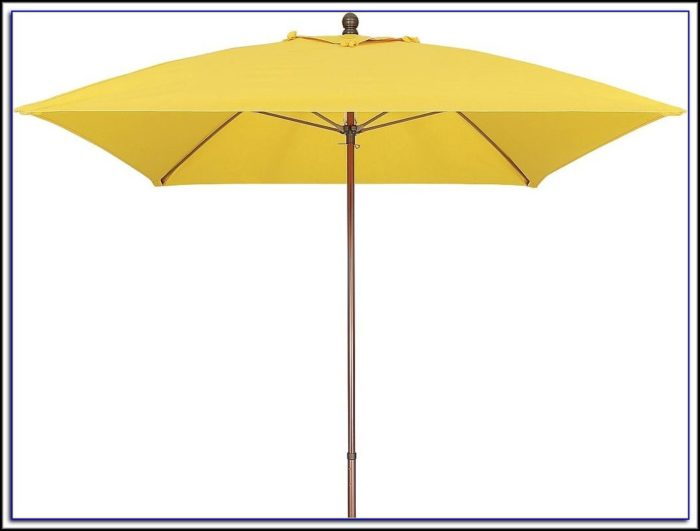 Square Patio Umbrella Replacement Canopy