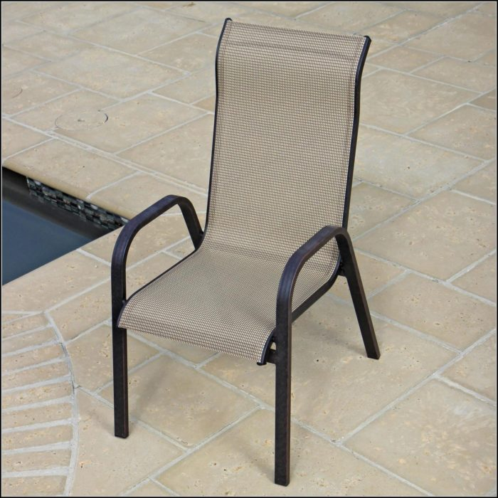 Stackable Patio Chairs Metal