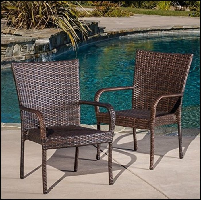 Stacking Patio Chairs Wicker